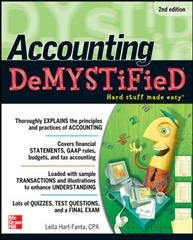 book cover for Accounting Demystified