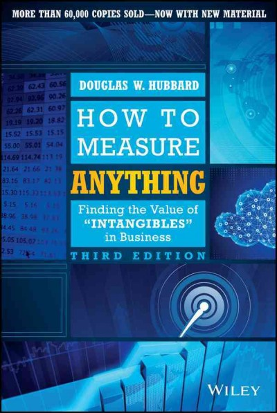 book cover of Hubbard's How to Measure Anything