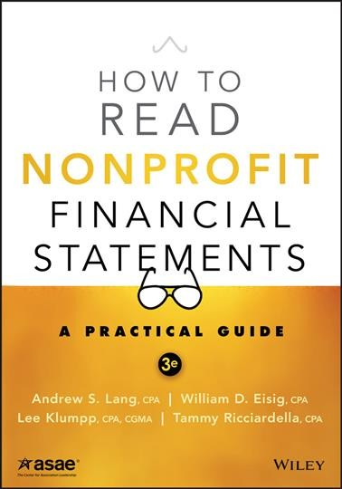 book cover of How to Read Nonprofit Financial Statements